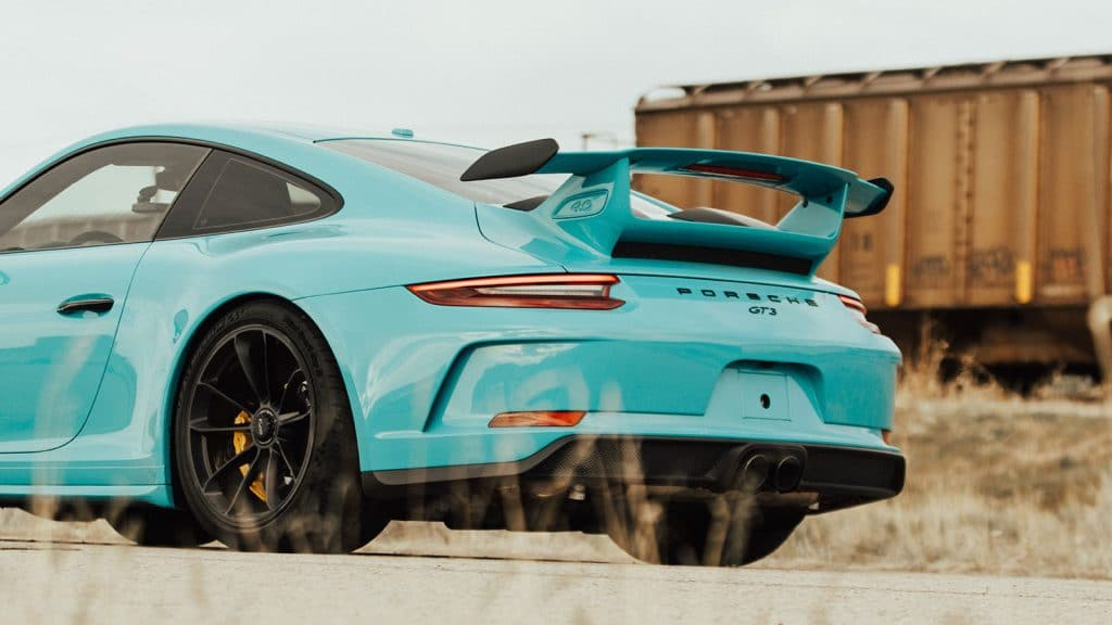 Porsche Tiffany Wrap