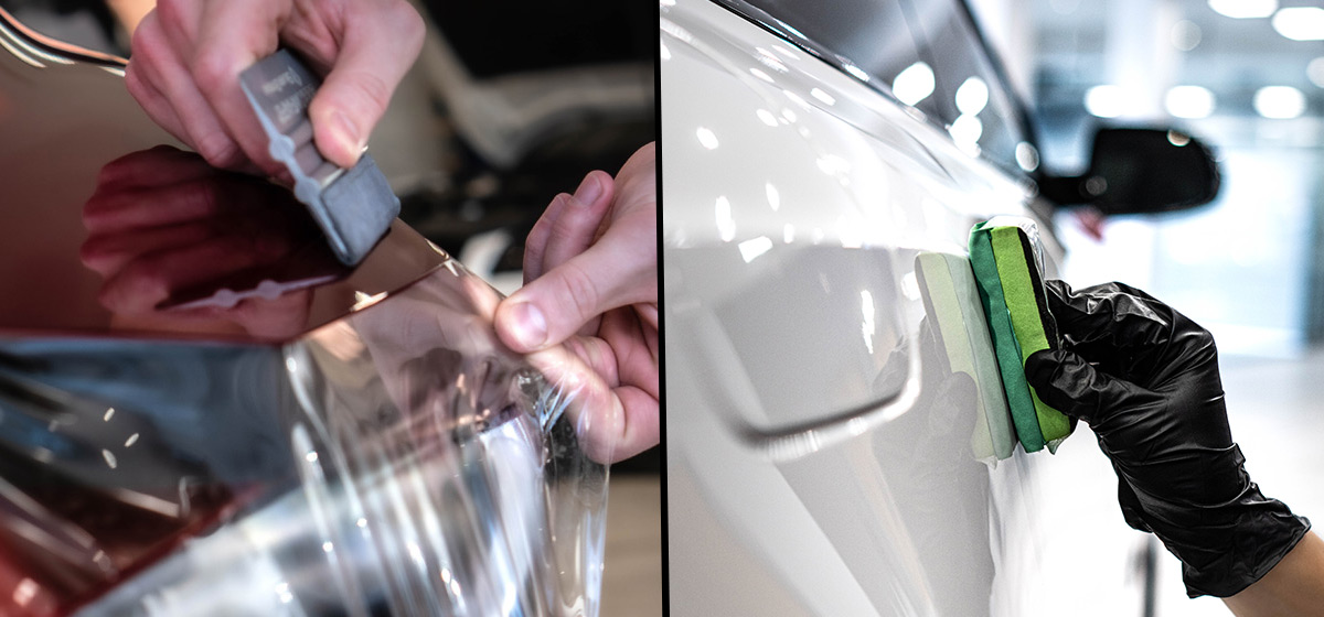What is the difference between PPF and Ceramic Coating?