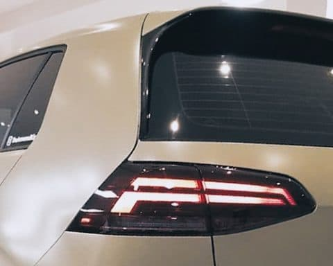 Tail light and window tinting